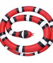 Goedkope rubberen speelgoed scharlaken slangen
