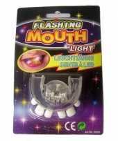 Goedkope scheve tanden gebitje led lampjes
