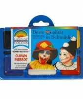 Goedkope schminkset clown 10100872