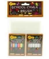 Goedkope schoolbord krijt spons