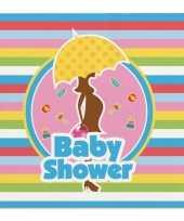 Goedkope servetten babyshower