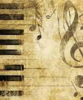 Goedkope servetten piano muzieknoten stuks