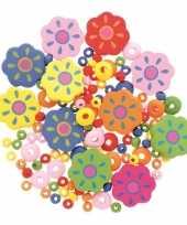 Goedkope sieraden maken kralenmix set bloem