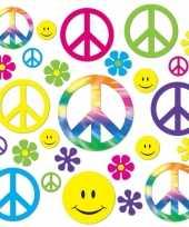 Goedkope sixties peace decoratie