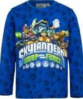 Goedkope skylander t shirt blauw