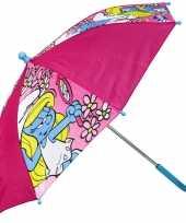 Goedkope smurfin paraplu meisjes