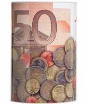 Goedkope spaarpot euro biljet 10135595