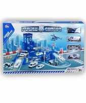 Goedkope speelgarage politie autos