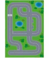 Goedkope speelgoed autowegen stratenplan wegplaten dorpje xl set karton