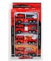 Goedkope speelgoed brandweerauto set