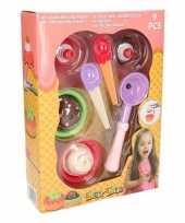 Goedkope speelgoed ijsjes set