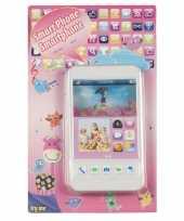 Goedkope speelgoed mobiele telefoon wit