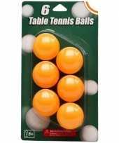 Goedkope speelgoed tafeltennis balletjes oranje stuks