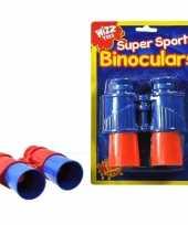 Goedkope speelgoed verrekijker rood blauw kinderen