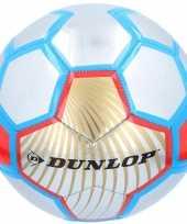 Goedkope speelgoed voetbal rood zilver blauw