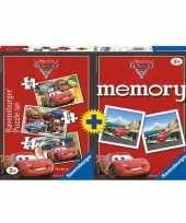Goedkope spel memory puzzel cars