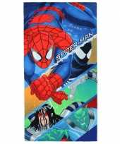 Goedkope spiderman badlaken 10069852