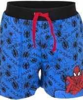 Goedkope spiderman korte broek blauw jongens