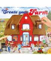 Goedkope stickerboek boerderij jongens