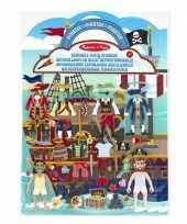 Goedkope stickerboek piraten thema