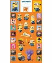 Goedkope stickervel minions 10086646