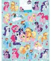 Goedkope stickervel my little pony groot