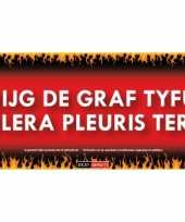Goedkope sticky devil krijg graf tyfus cholera pleuris tering