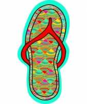 Goedkope strandlaken badlaken slipper flip flop