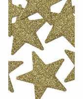 Goedkope stuks gouden decoratie sterren