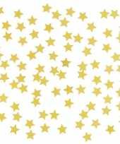 Goedkope stuks gouden sterren confetti zakjes gram 10135708