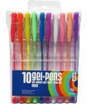 Goedkope stuks neon gekleurde gelpennen