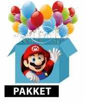 Goedkope super mario thema kinderfeest pakket