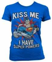 Goedkope super powers dames t shirt