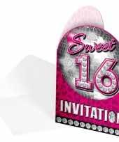 Goedkope sweet uitnodigingskaarten stuks