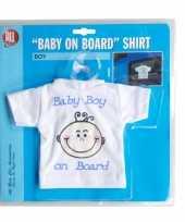 Goedkope t shirt baby on board jongen auto