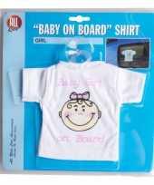 Goedkope t-shirt baby on board meisje auto