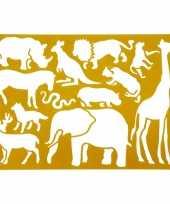Goedkope teken sjabloon wilde dieren
