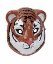 Goedkope tijger masker d plastic cm