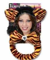 Goedkope tijger verkleed setje