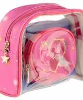 Goedkope toilettas make up tassen set prinses kinderen