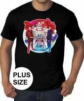 Goedkope toppers grote maten zwart toppers concert officieel shirt heren
