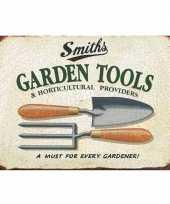 Goedkope tuin retro muurplaat garden tools