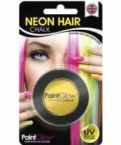 Goedkope uv haarkrijt geel
