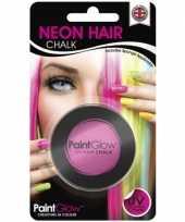 Goedkope uv haarkrijt roze