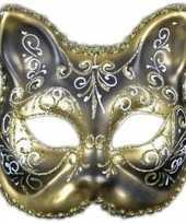 Goedkope venetiaanse kat klassiek masker