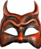 Goedkope venetiaanse rode duivel masker