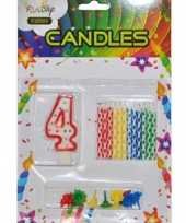 Goedkope verjaardag kaarsen set nummer 10040113
