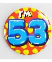 Goedkope verjaardags button i am 10159703