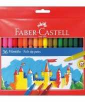 Goedkope viltstiften gekleurd stuks