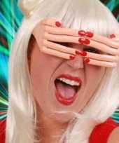 Goedkope vingerbril rode nagels